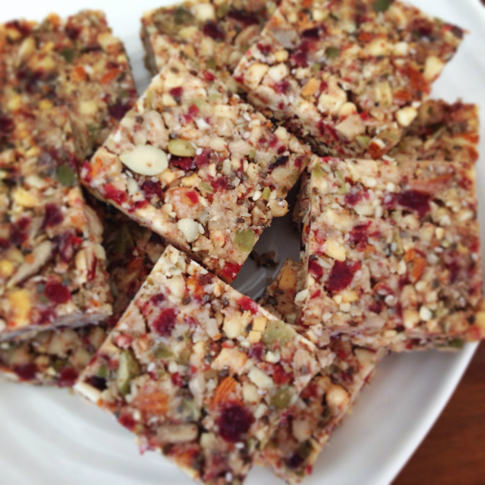 Cranberry Health Bars